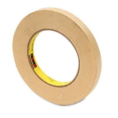 "3M High-Performance Masking Tape, 1/2"" x 60 Yards, 3"" Core"