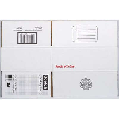 "3M 16"" x 12"" x 8"" Scotch Mailing Box"