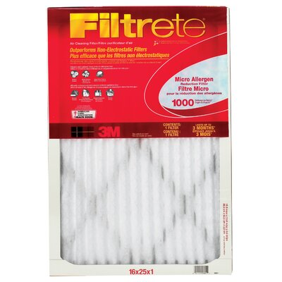 3M Filtrete Micro Allergen Reduction Filter