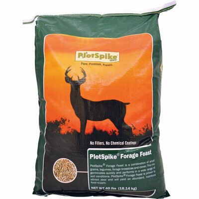 PlotSpike Forage Feast Food Plot Seed (40 lbs)