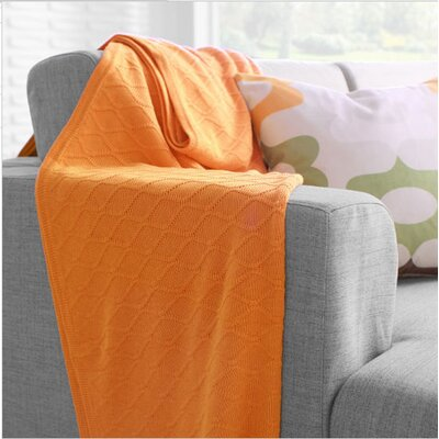 Inhabit Current Throw in Orange