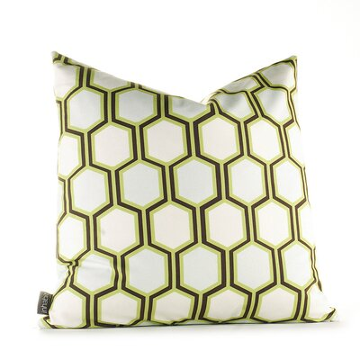 Inhabit Estrella Plinko Pillow in Grass