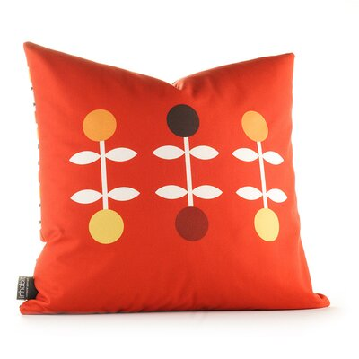 Inhabit Aequorea Giggle Pillow in Scarlet