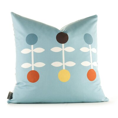 Inhabit Aequorea Giggle Pillow in Cornflower