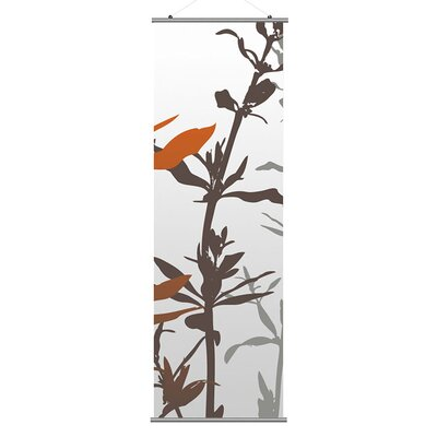 Inhabit Morning Glory Wildflower Slat in Silver and Rust 2