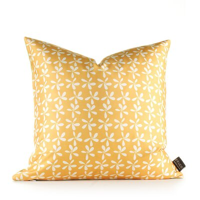 Inhabit Aequorea Rhythm Stencil Pillow in Pear and Rust