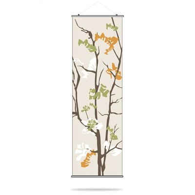 Inhabit Ailanthus Slat Hanging Panel in Wheat