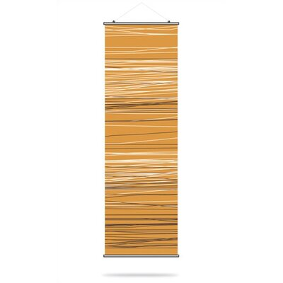 Inhabit Rain Slat Hanging Panel in Sunshine