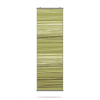 Inhabit Rain Slat Hanging Panel in Grass