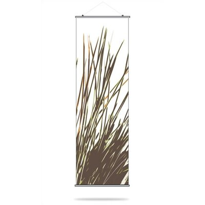 Inhabit Thatch Slat Hanging Panel in Grass