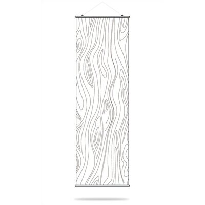 Inhabit Madera Slat Hanging Panel in White