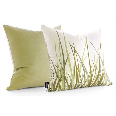 Inhabit Summer Grass Throw Pillow