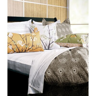 Inhabit Rhythm Cotton Bedding Collection in Chocolate