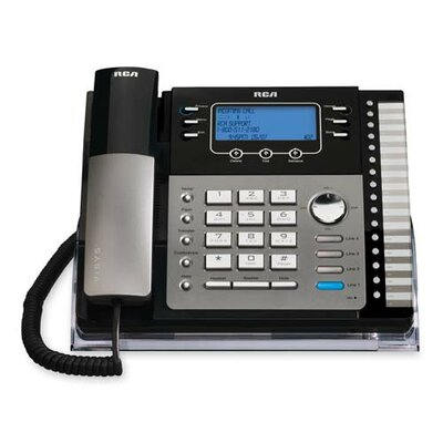 RCA Products Visys 4-Line Phone with Caller ID