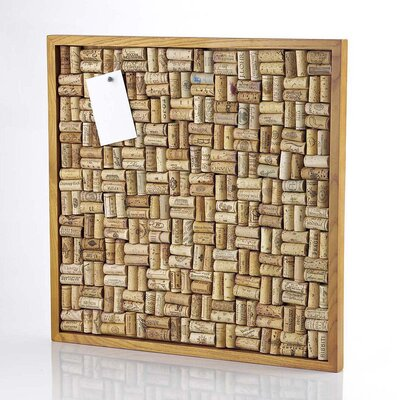 Wine Enthusiast Large Wine Cork Board Kit