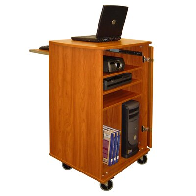 Woodware Furniture Media Presentation Cart