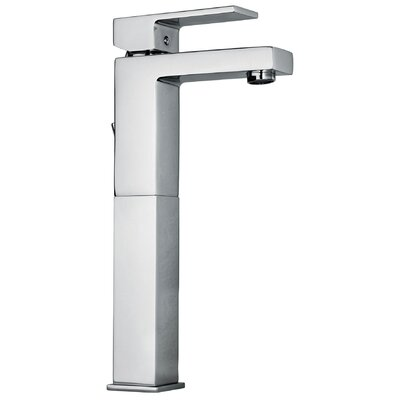 Jewel Faucets J12 Bath Series Single Lever Handle Tall Vessel Sink Faucet with Linear Matched Spout