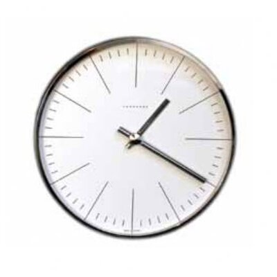 Junghans Bill Wall Clock with Lines
