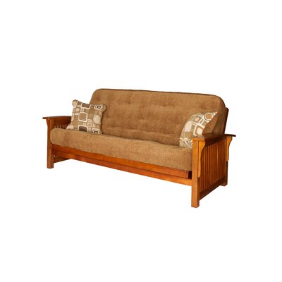 Big Tree Furniture Premium Hardwood Series Hasting Futon Frame and Mattress