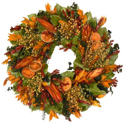 Urban Florals Indian Summer Protea Wreath