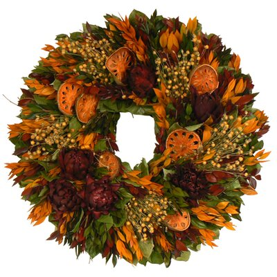 Urban Florals Farmers Harvest Wreath