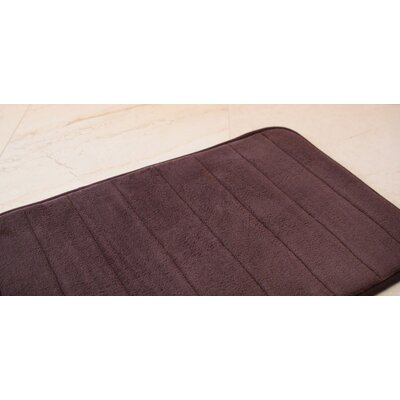 Luxor Linens Luxury Quick Dry Memory Foam Bath Mat (Set of 2)