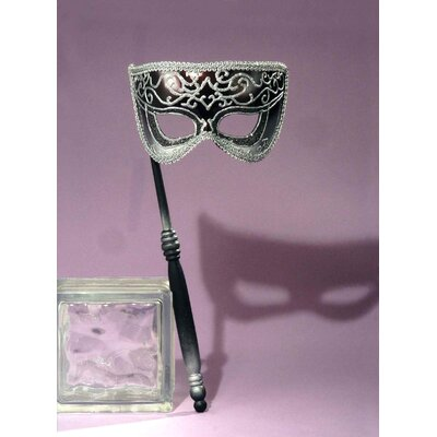 Forum Novelties Inc. Venetian Style Half Mask on A Stick