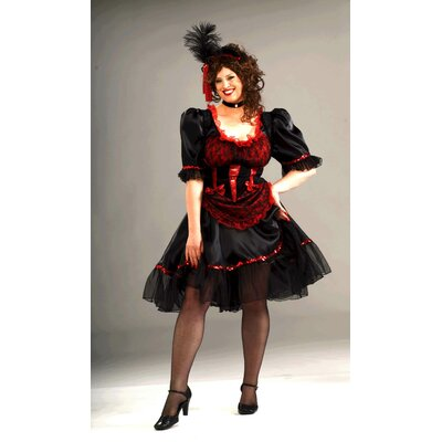Forum Novelties Inc. Saloon Girl Costume Plus