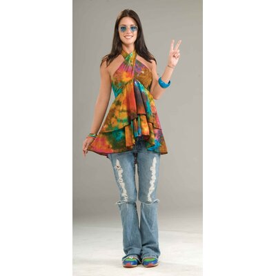 Forum Novelties Inc. Halter Ruffle Top Adult Costume