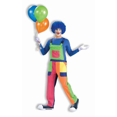 Forum Novelties Inc. Clown Overalls Costume