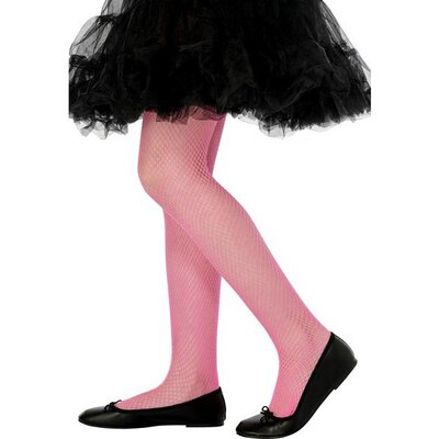 Smiffy's Sheer Fun Child's Fishnet Costume Tights