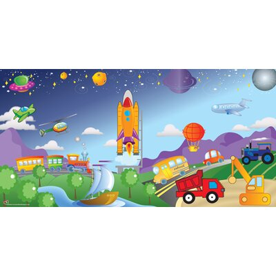 Mona Melisa Designs Cars / Trucks Wall Mural