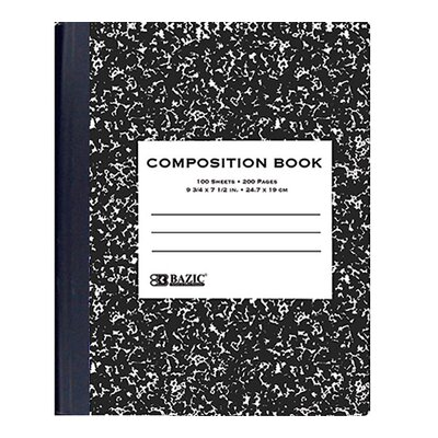 Bazic Marble Composition Book  (Set of 48)