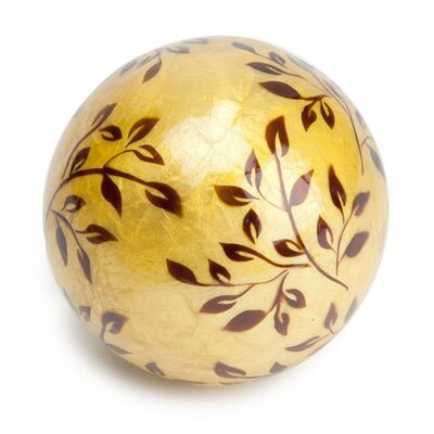 Dekorasyon Gifts & Decor New Vine Capiz Ball (Set of 2)
