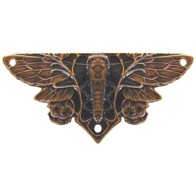Notting Hill All Creatures Cicada On Leaves Hinge Plate
