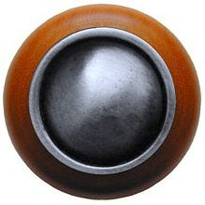 Notting Hill Classic Plain Dome Wood Knob
