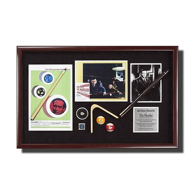 Legendary Art 'The Hustler' Framed Memorabilia Artwork