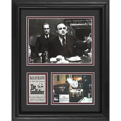 Legendary Art Tall 'The Godfather' Movie Memorabilia