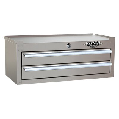 "Viper Tool Storage 26"" 2 Drawer Intermediate Chest"