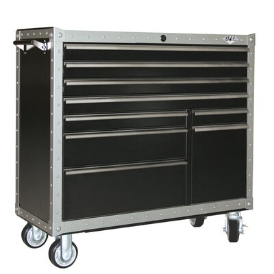 Armor Series 9 Drawer Rolling Cabinet
