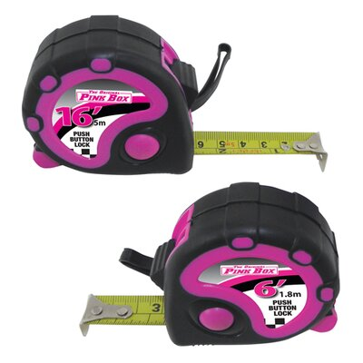 The Original Pink Box 2 Piece Tape Measure Set