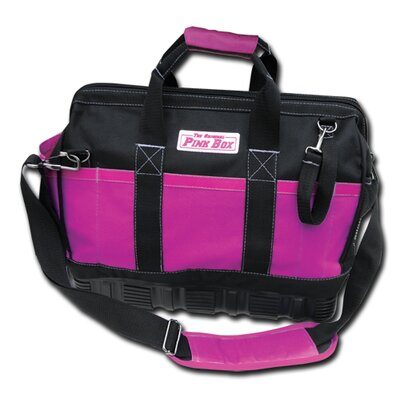 "The Original Pink Box 15"" Tool Bag with Rubber Base"