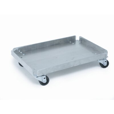 PVIFS Flat Dolly, Supports Glass Racks