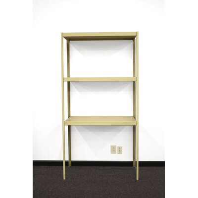 PVIFS Industrial Three Shelf Retractable Shelving Unit