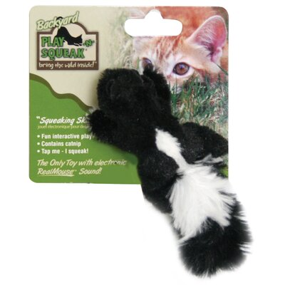 Play-N-Squeak Play-N-Squeak Backyard Skunk Cat Toy