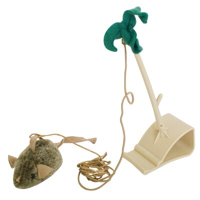 Play-N-Squeak Batting Practice Cat Toy