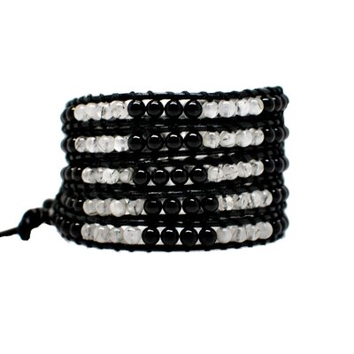 Winky Designs On the Rocks 5-Layer Wrap Bracelet