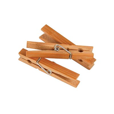 Richards Homewares Laundry Bamboo Clothes Pins (Set of 36)
