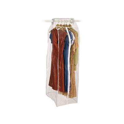 Richards Homewares Clear Vinyl Frameless Dress Bag
