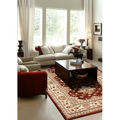 Orian Rugs Inc. Anthology Bazine Rust Red Rug